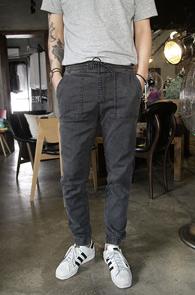 Grey Span Denim Jogger Pants<br>�����÷��� ���Լ���<br>���༺�� �پ ��������