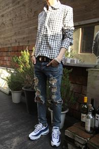 Basic Western Check Shirts<br>����� �������� üũ ����<br>�������� ���� ���� ����