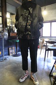 Black High Neck Military Jacket<br>�?�÷��� ���̳� ������<br>���ѱ��尨�� ���̳� �����