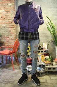 2 Color Sukajyan MA-1 Jacket<br>�����÷��� �?�÷� �ΰ����� ��<br>�ڼ��������� �����̴� ��ī�� �װ�����