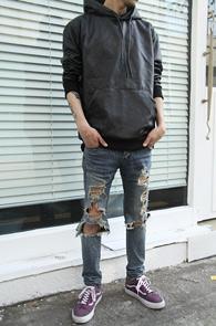 All Fake Leather Hood T-Shirts<br>����ũ ��������,�������� ������<br>���簨�� ��Ư�� �⺻ �ĵ�Ƽ����