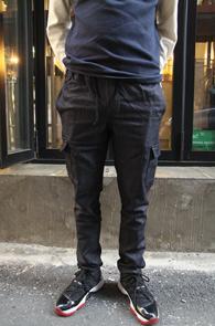 Black Span Cotton Cargo Pants<br>�?�÷��� ���༺�ִ� ���<br>��ư����� ���۵� ��ī������