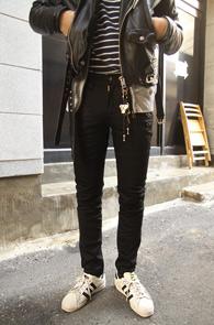 Black Coating Slim Biker Pants<br>�?�÷��� ���ð���� ���<br>������ �Ͱ��� ���� ����Ŀ����