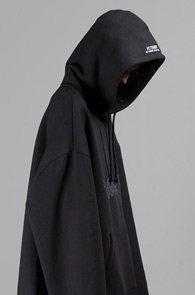 Vetements Over Fit Black Hood<br>�?�÷�, �����ִ� �Ͱ�<br>���� ��ũ������ ��Ʈ�� �ĵ�