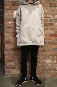 Grey Raglan Sidezipper Hood T-shirts<br>���� �÷�, ��� �Ȱ�<br>���̵� ���� �������� �ĵ�Ƽ����