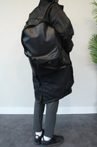Black Fake Leatehr Backpack<br>����� ũ���� ���� ����<br>�⺻���� �?�÷��� ���� Ȱ�뵵