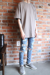 Fog Basic T-Shirts Brown<Br>Fog ������ Ƽ����<br>�������,�������� ��밨�� Ƽ����