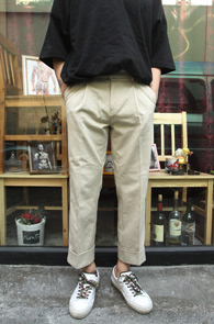 Beige Wide Slacks Pants<br>������ ���̵� ī��� ������<br>���� ��밨,���̵��� �Ƿ翧