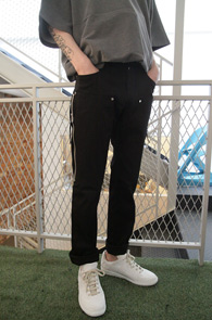 Black Zipper Slim Pants<br>�?�÷�, ���༺�ִ� ���<br>�������� �����̴� ���� �?��