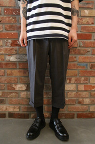 Grey Banding Slacks Pants<br>7�� �׷��� ��� ������<br>�ش� �Ͼ�,����� ��밨