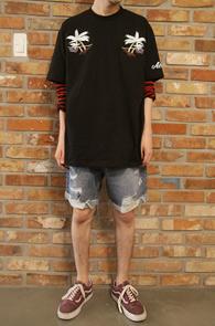 Black Aloha T-Shirts<br>�?�÷�, ��ư����<br>�ڼ��������� �λ����� Ƽ����