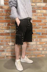 Blaco Cargo Half Stud Pants<Br>�?�÷��� ���͵� ������<br>����ũ�� �������� ī�� ��������