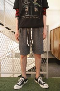 Dark Grey Zipper Half Pants<br>��ũ���� �÷�, ���� ������<br>����� ��밨�� ��������