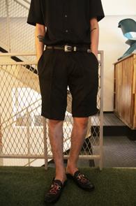 Black Zipper Half Slacks<br>�������� ������, �?�÷�<br>���۵������� �ڽ����� ������