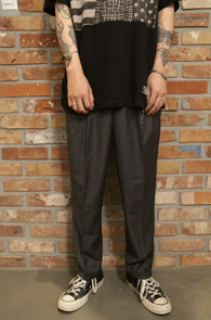 Gray Banding Slacks Pants<br>���� Ŀ�� ������<br>�㸮�κ� ���,��Ʈ����Ʈ ��