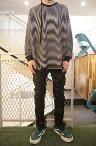Black Stripe Over Fit T-Shirts<br>��Ʈ������ ����,�ڽ��� �Ͱ�<br>���������� ���۵� �ܰ���Ƽ