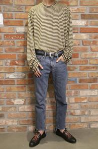 Long Stripe Over Fit T-Shirts<br>�ڽ��� �Ͱ��� ��Ʈ������ ����<br>�Ⱥκ��� ��Գ��� �� ������