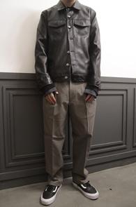 Black Fake Leather Jacket<Br>�?�÷�, ����ũ��������<br>�������� �������� ���� ����