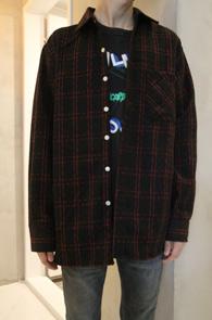 2 Color Check Wool Shirts<BR>두가지 컬러감의 체크 패턴<BR>어디에나 매치할수있는 울 체크셔츠
